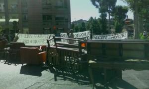 protesta vial egori
