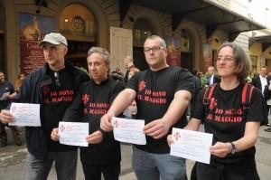 maggio musicale protesta lavoratori 2