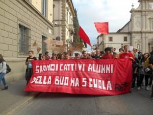 manifestazione corteo scuola studenti 2