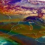 mappa alta pressione toscana