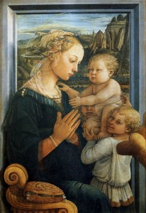 Fra_Filippo_Lippi_-_Madonna_with_the_Child_and_two_Angels_-_WGA13307