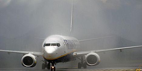 aereo nebbia ryanair