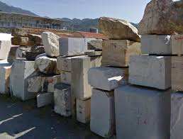 marmo cava blocchi carrara