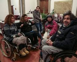 disabili protesta consiglio regionale