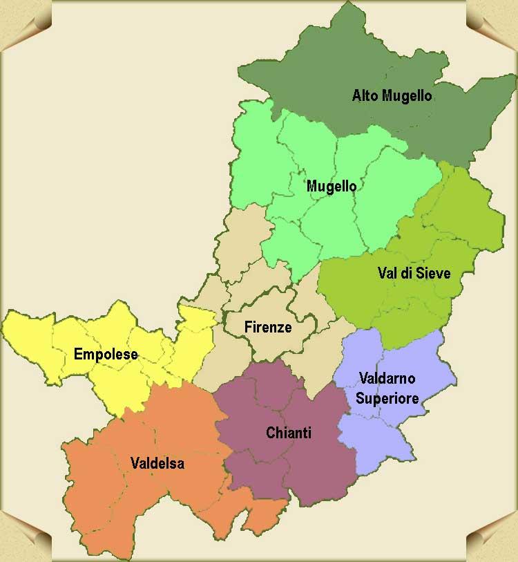 Cartina Geografica Provincia Di Firenze.Novaradio Citta Futura Nardella Un Referendum Per Unire Firenze E I Comuni Dell Hiterland Novaradio Citta Futura