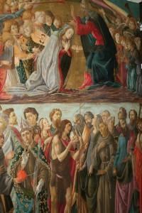 botticelli - incoronazione villa la quiete