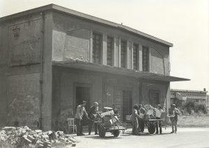 Ex Cinema Teatro di San Salvi - foto storica lavori per la riapertura 1977