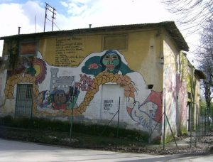 Murales 25 aprile 1978 - Immobile futuro Museo Tinaia