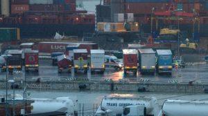 livorno camion porto
